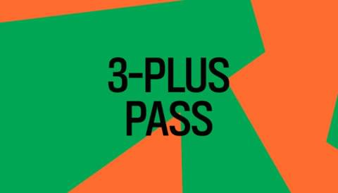 Promo image for 3-Plus Pass