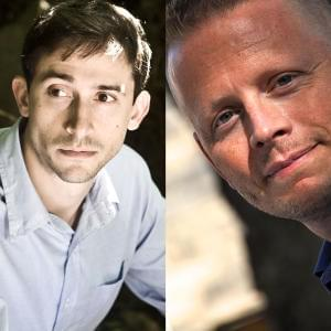 Promo image for Jesse Andrews and Patrick Ness