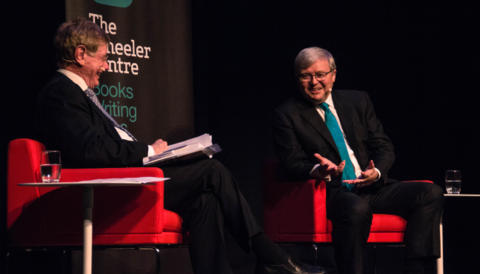 Promo image for Kevin Rudd and Kerry O'Brien