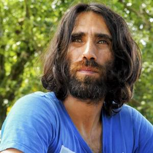 Portrait of Behrouz Boochani