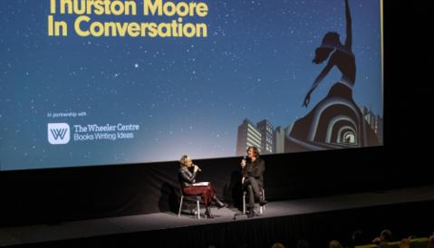 Cover image for of Thurston Moore in Conversation