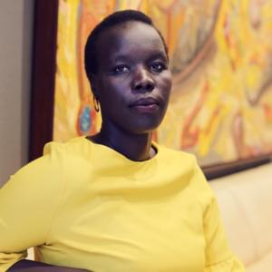 Portrait of Nyadol Nyuon