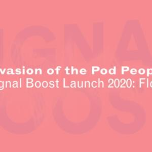 Promo image for Signal Boost 2020 Launch: Float