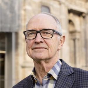 Portrait of Ross Garnaut