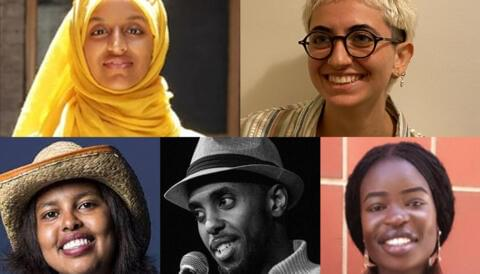 Promo image for Words Without Borders: An Evening of Poetry and Spoken Word