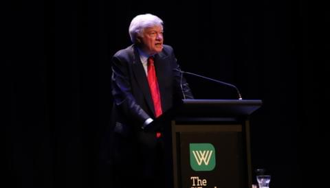 Cover image for of A Night with Geoffrey Robertson