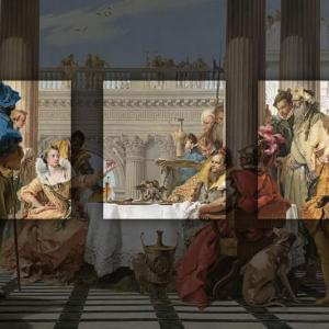 Cover image for Fame, Feast and Femme Fatale: The Banquet of Cleopatra